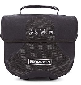 Ortlieb Brompton Ortlieb Mini O Bag, Reflective Black