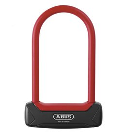 Abus LOCK ABUS U 640 GRANIT PLUS FUTURA 64 MIN, Red/Black