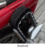 BromFoot BromFoot2, Folding Pedal Extension for Brompton