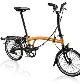 Brompton Brompton M6R Black Edition - Orange/Black
