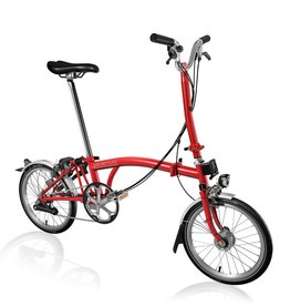 Brompton Brompton H6L - Red, Shimano Dynamo Lighting