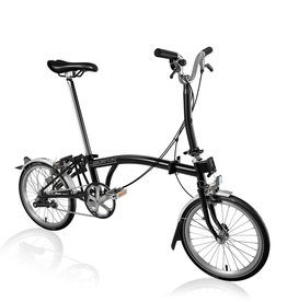 Brompton Brompton M3L Black, -12% Reduced Gearing