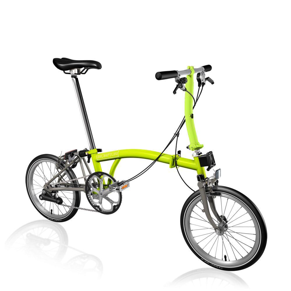 Brompton Brompton S2E-X Lime Green