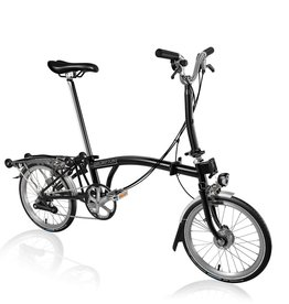 Brompton Brompton M6R Basic Black, Shimano Dynamo Lighting