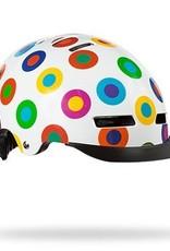 Lazer Street Plus Helmet: Dots MD
