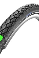 Schwalbe Schwalbe Marathon Tire, 20x1.5 Wire Bead Black with Reflective Sidewall and GreenGuard Protection