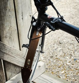 """Odin Odin 16""""  Wooden Fenders for Brompton"""