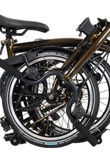 Brompton Brompton H6L Raw Black Lacquer Black Edition, Tele Post