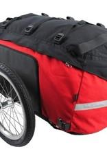 Radical Designs Cyclone IV Trekking Trailer, Red/Black