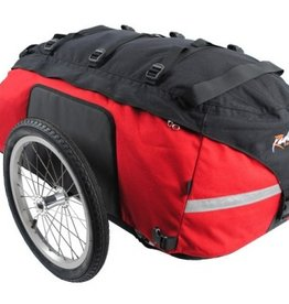 Radical Designs Cyclone IV Trekking Trailer, Red/Black