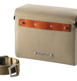 Brooks Brooks Isle Of Skye Handlebar Bag - Small - Dove/Honey