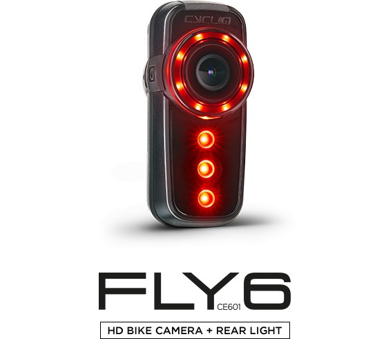 Cycliq Cycliq Fly6(v) HD Bike Camera and Rear Light, CE601