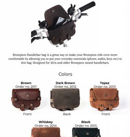 Soumo Leather Souma Leather Handlebar Bag