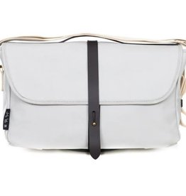 Brompton Brompton SHOULDER BAG, Grey, C/W COVER & FRAME