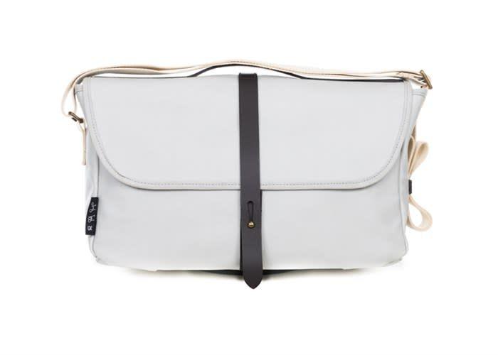 Brompton Brompton SHOULDER BAG, Grey, C/W COVER & FRAME