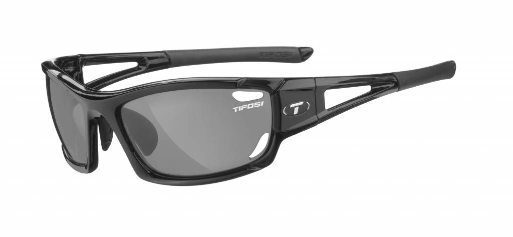TIFOSI OPTICS Dolomite 2.0, Gloss Black Golf Interchangeable Sunglasses