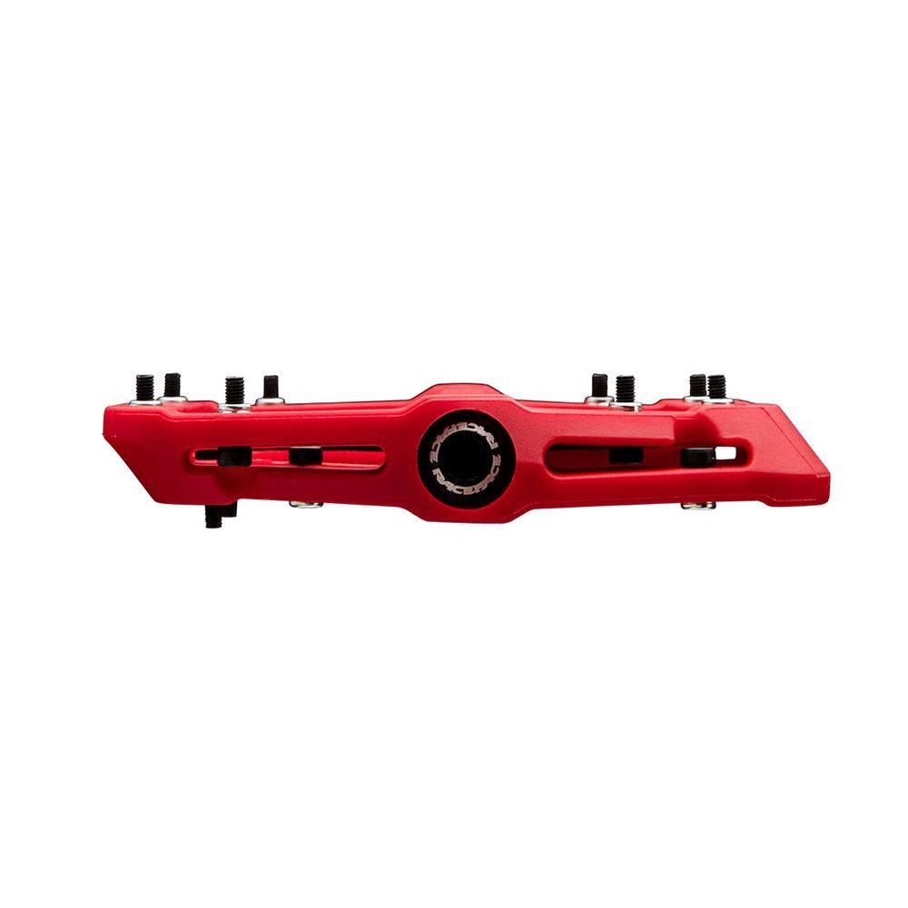 "RaceFace RaceFace Chester Composite Platform Pedal: 9/16"" Red"