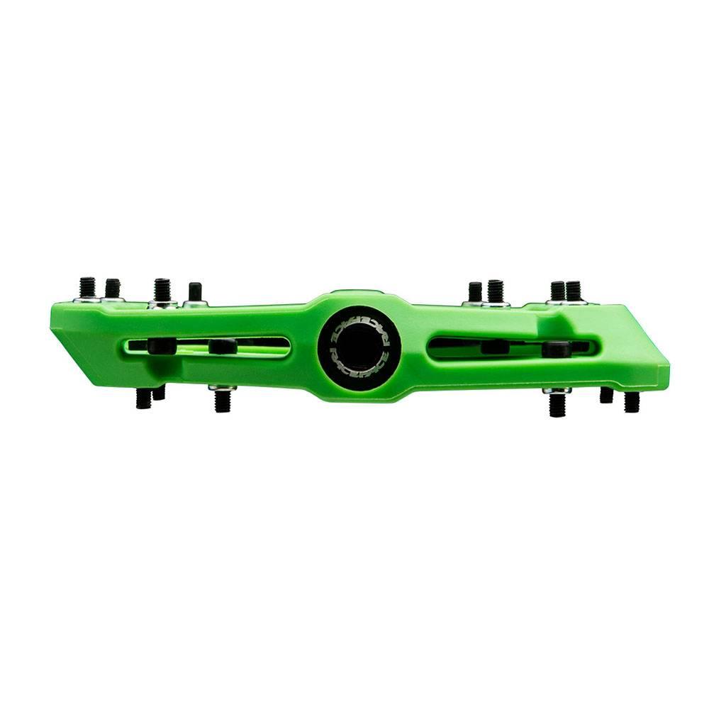 "RaceFace RaceFace Chester Composite Platform Pedal: 9/16"" Green"