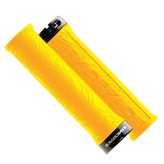 RaceFace GRIPS,HALF NELSON,SINGLE LOCK ON,YELLOW