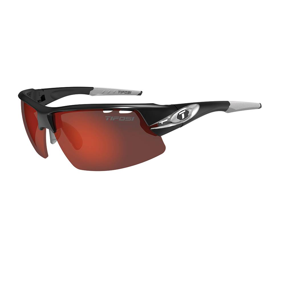 TIFOSI OPTICS Crit, Race Silver Interchangeable Sunglasses