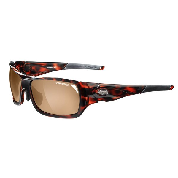 TIFOSI OPTICS Duro, Tortoise Golf Interchangeable Sunglasses
