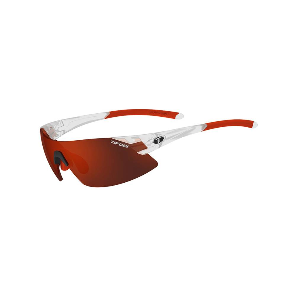 TIFOSI OPTICS Podium XC, Matte Crystal Interchangeable Sunglasses