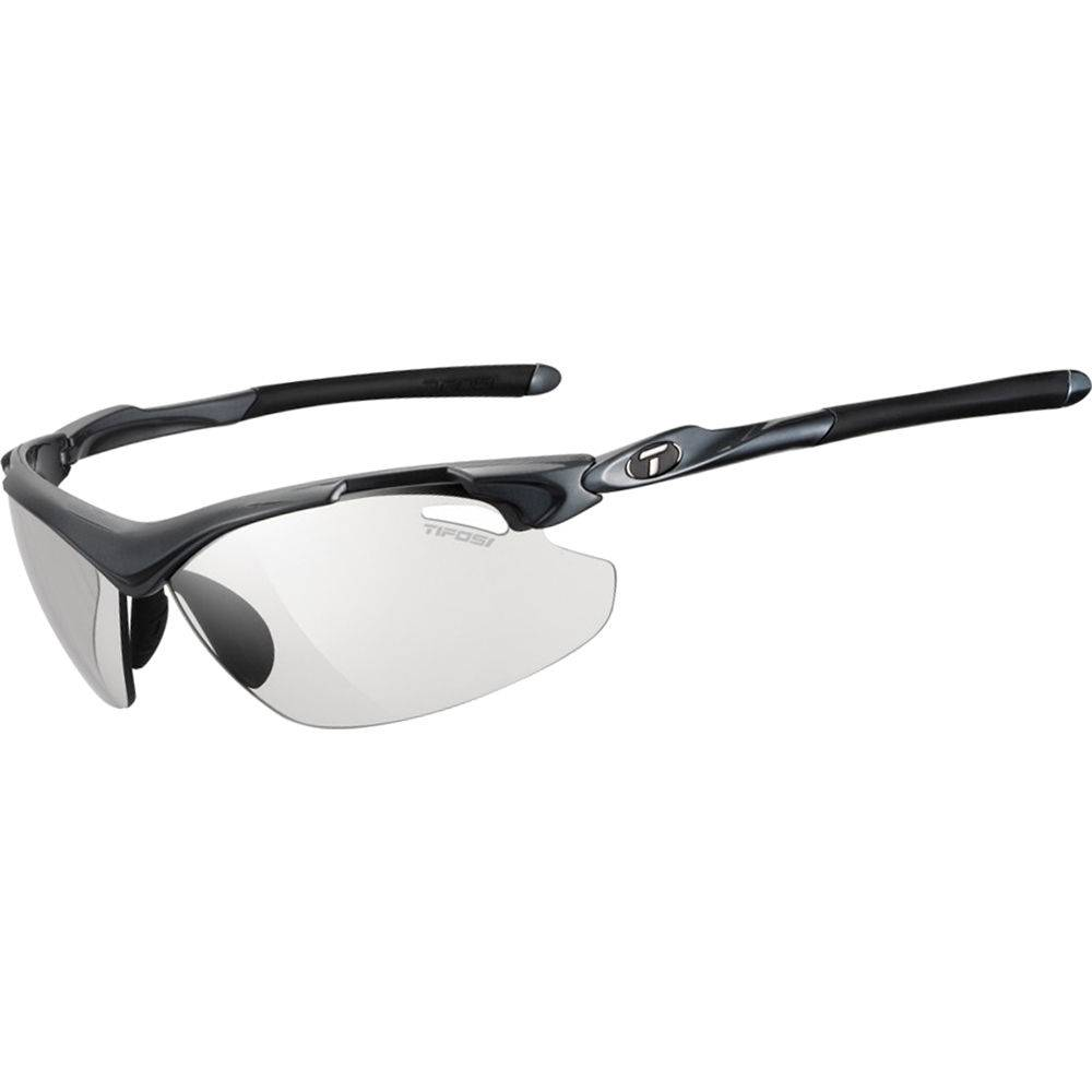 TIFOSI OPTICS Tyrant 2.0, Gunmetal Fototec Sunglasses Light Night Fototec Lenses