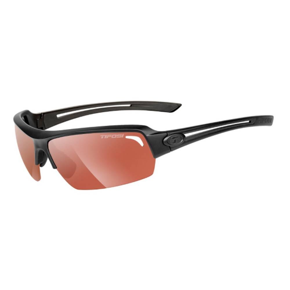 TIFOSI OPTICS Just, Matte Black Fototec Sunglasses HS Red Fototec