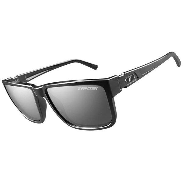 TIFOSI OPTICS Hagen XL, Gloss Black Single Lens Sunglasses Smoke