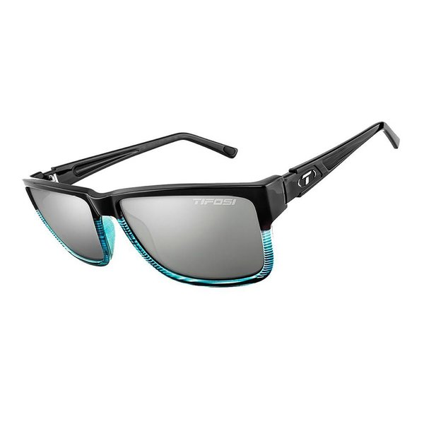 TIFOSI OPTICS Hagen XL, Blue Fade Single Lens Sunglasses Smoke