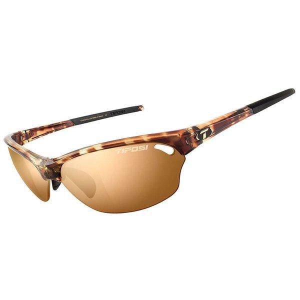 TIFOSI OPTICS Wasp, Tortoise Polarized Fototec Sunglasses Brown Polarized Fototec Lenses