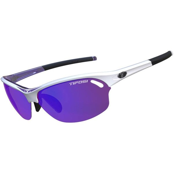 TIFOSI OPTICS Wasp, Race Purple Interchangeable Sunglasses Clarion Purple, AC Red, Clear