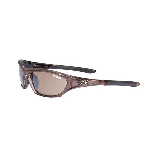 TIFOSI OPTICS Core, Crystal Brown Metallic Single Lens Sunglasses Brown Lenses
