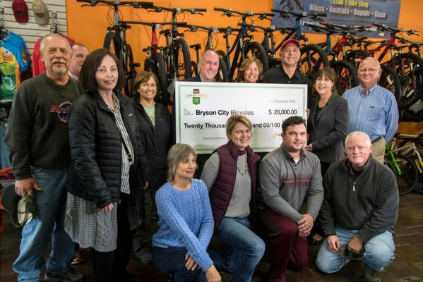 Bryson City Bicycles Wins Working Forward Small Business Award