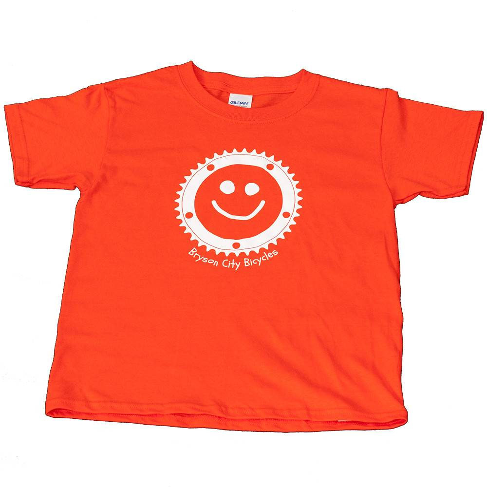 Bryson City Bicycles BCB Smiley Cog Tee Youth