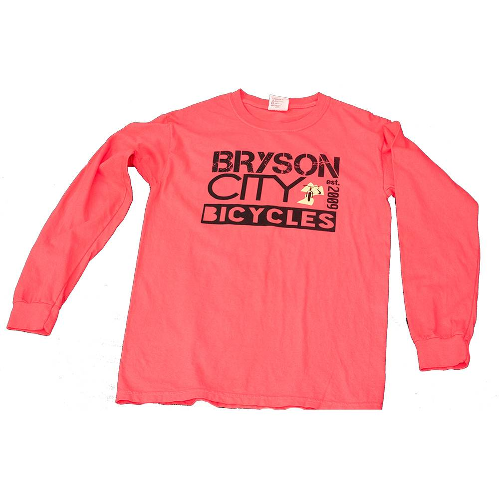 Bryson City Bicycles BCB Square Longsleeve Tee