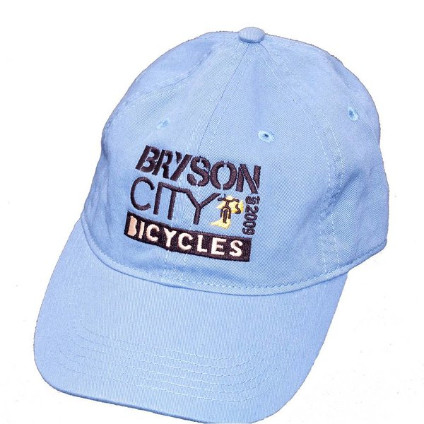 Bryson City Bicycles BCB Square Hat Blue