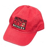 Bryson City Bicycles BCB Square Hat Red