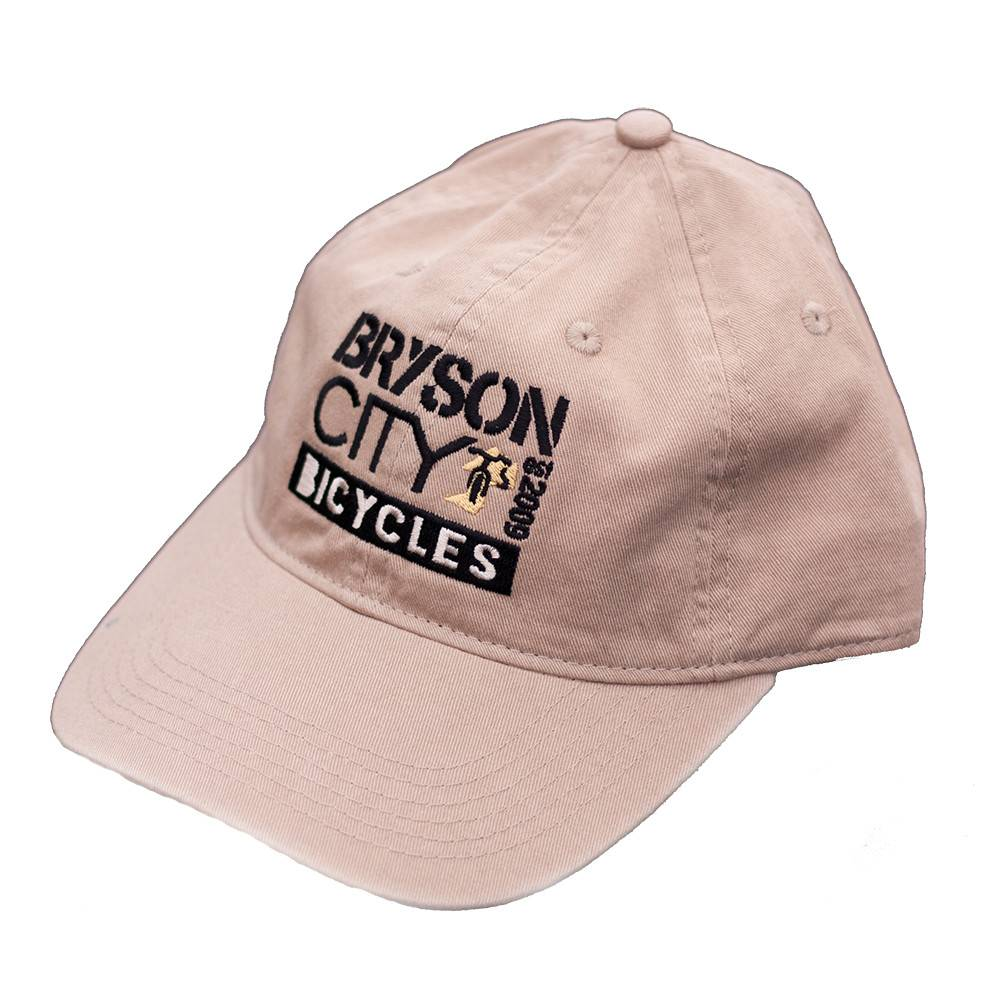 Bryson City Bicycles BCB Square Hat Khaki