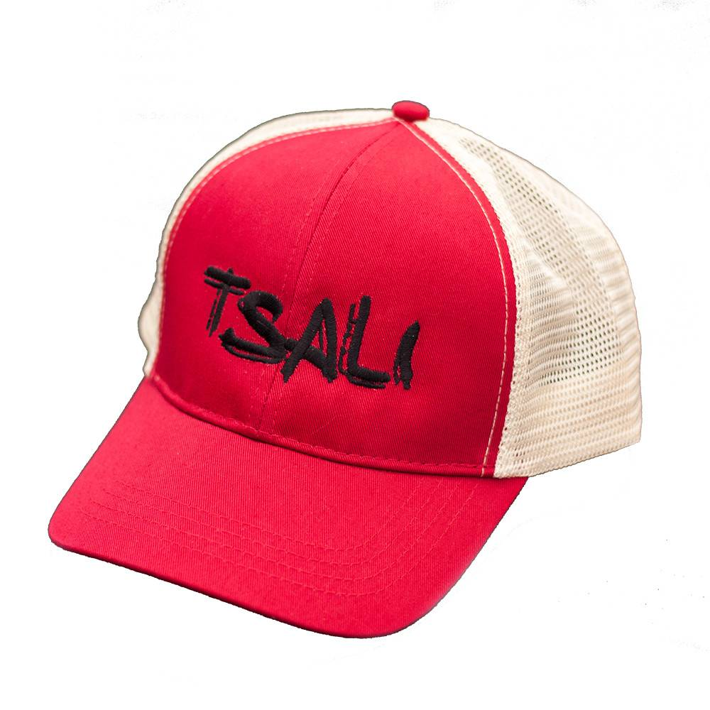 Bryson City Bicycles Tsali Trucker Hat Cardinal