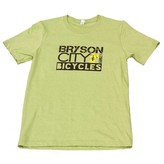 Bryson City Bicycles BCB Men's Square tee, Green