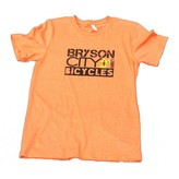Bryson City Bicycles BCB Men's Square tee, Orange