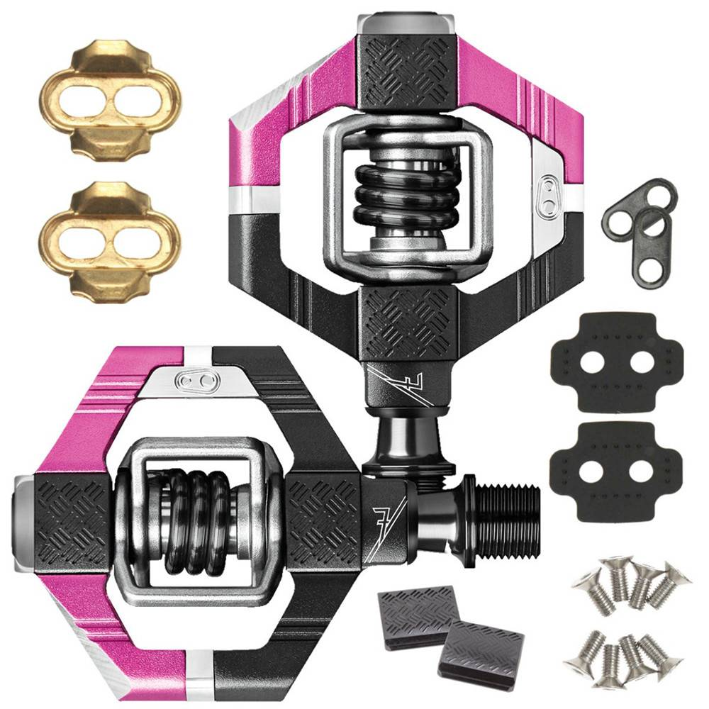 Crankbrothers Pedals - Candy 7 - Magenta / Black