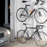 Delta Delta Rugged Michelangelo Gravity Stand Bike Storage Rack: Holds Two Bikes