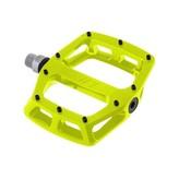 """DMR DMR V12 Pedals, 9/16"""" Alloy Platform Lemon Lime"""