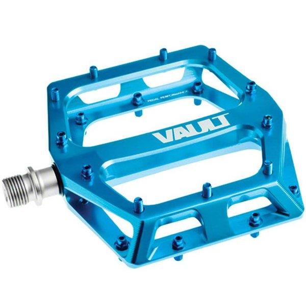 """DMR DMR Vault Pedals, 9/16"""" Alloy Platform Blue"""