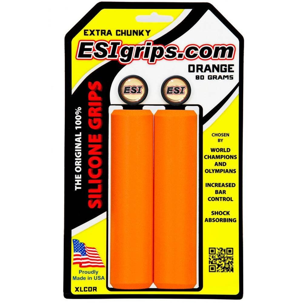 ESI ESI Extra Chunky Silicone Grips: Orange