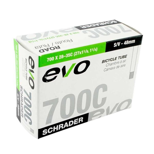 EVO EVO Inner Tube, Schrader, 20x1.75-2.125 Low Lead, 32mm