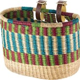 House of Talents House of Talents Oblong Bike Front Basket: Assorted Colors
