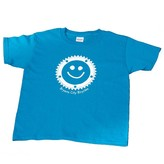 Bryson City Bicycles BCB Smiley Cog Tee Youth, Sapphire